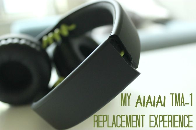 My AiAiAi TMA-1 replacement experience