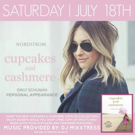 Cupcakes & Cashmere Flyer July 18th