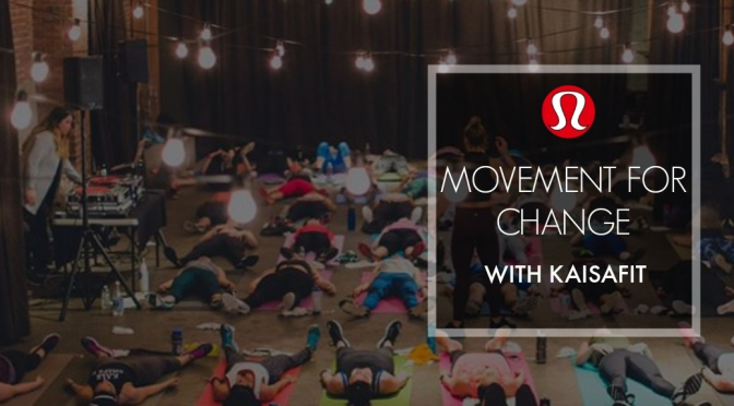 Movement for change with KaisaFit